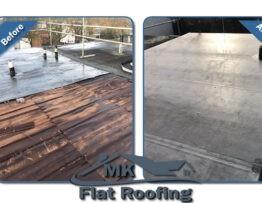 Flat Roof Replaced in Milton Keynes