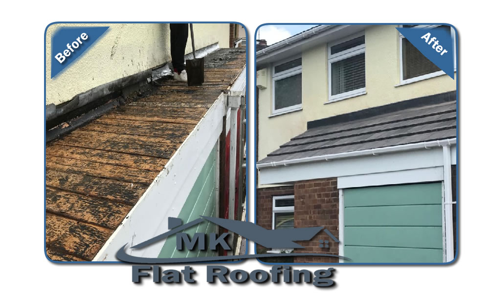 MK Roofing in Milton Keynes Roofing Before and After 13