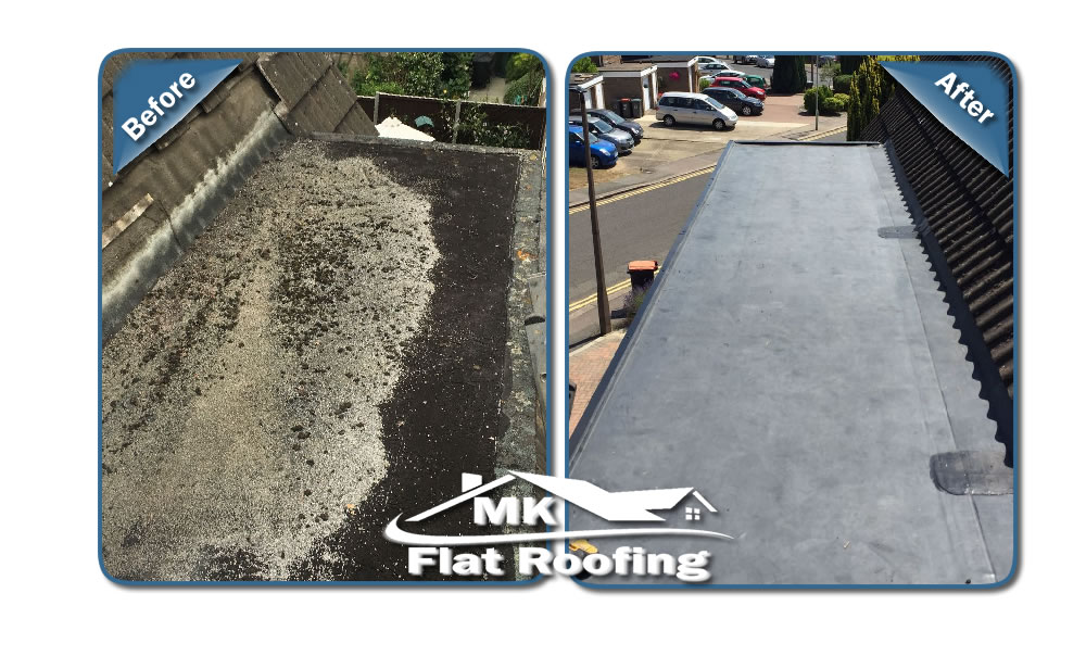 MK Roofing in Milton Keynes Roofing Before and After 14