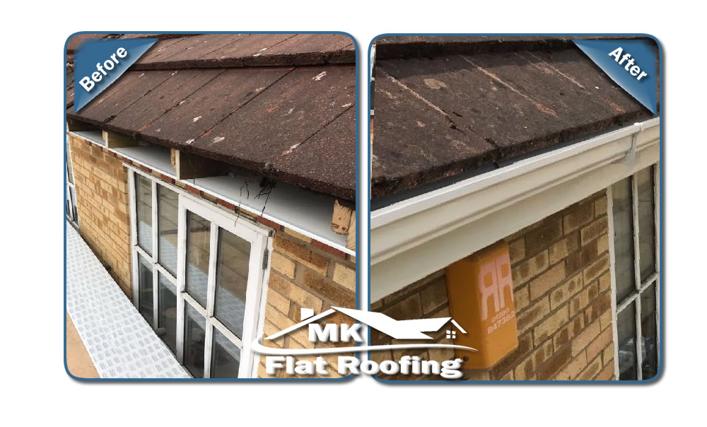 MK Roofing in Milton Keynes Roofing Before and After 17