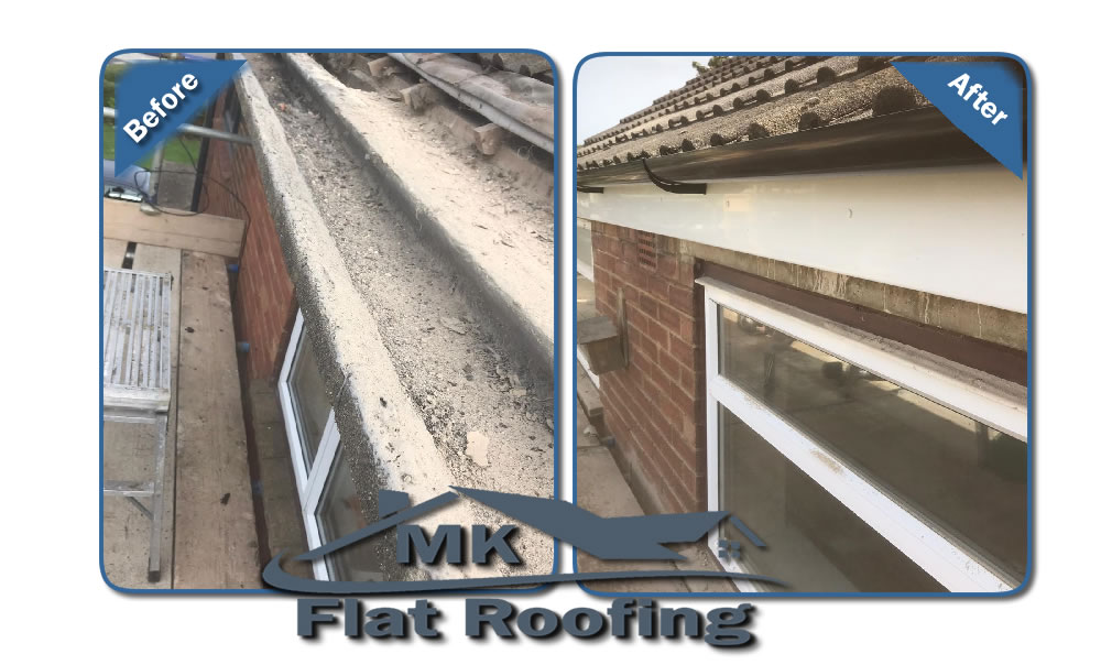 MK Roofing in Milton Keynes Roofing Before and After 2