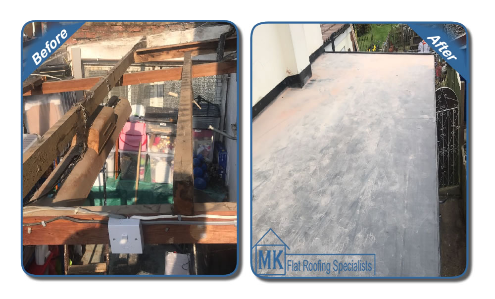 MK Roofing in Milton Keynes Roofing Before and After 4