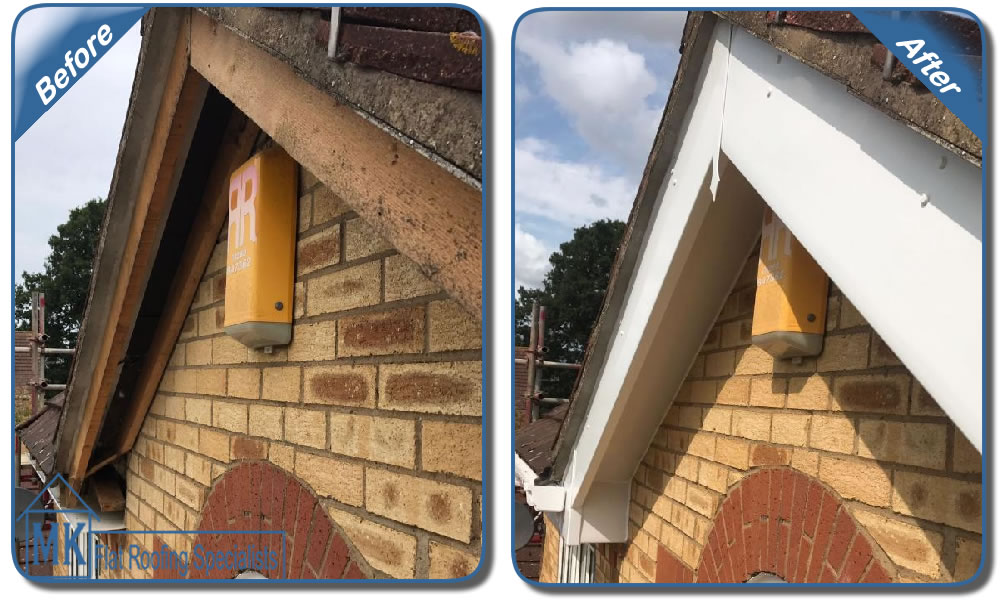 MK Roofing in Milton Keynes Roofing Before and After 6