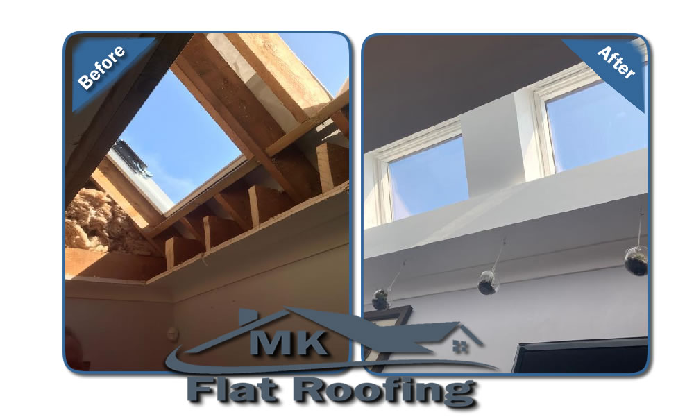 MK Roofing in Milton Keynes Roofing Before and After 7