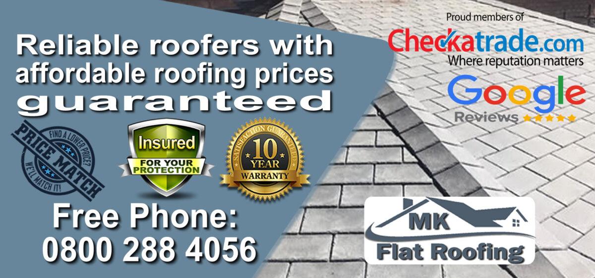 Rubber Roofing in Milton Keynes
